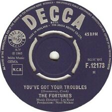 """The Fortunes – You've Got Your Troubles 7"""""""