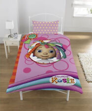 Single Bed Everythings Rosie Ragdoll Polycotton  Panel Duvet Set