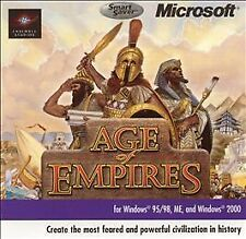 Age of Empires SmartSaver Series (PC, 2001) Windows 95 New in Factory Sealed Box