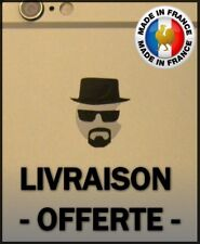 Stickers BREAKING BAD pour logo apple IPHONE / HEINSENBERG