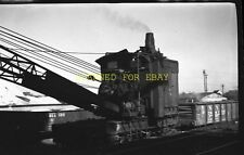 1950s Bucyrus & Erie Railroad Crane ORIGINAL PHOTO NEGATIVE-Railroad