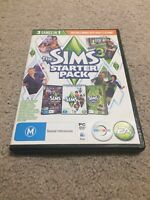 Sims 3 Starter Pack PC Mac Game EA Maxis Base Game & 2 Expansions Bundle
