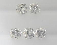 5pc Natural Loose Brilliant Cut Diamond VS-SI Clarity G Color 0.8mm-2.5mm Round