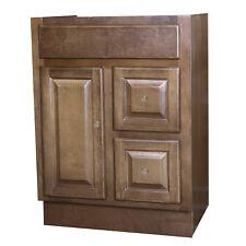 24 x 18 Chestnut Cognac Bathroom Vanity Cabinet