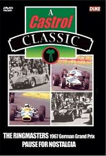 The Ringmasters - 1967 German Grand Prix (New DVD) Nurburgring Motor Racing