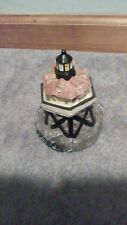 Vintage Music Box lights up Lighthouse Plays You Light Up My Life Thomas Pt
