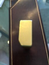 Cartier Lighter Gold Plaque Pattern