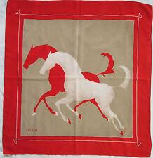 -Superbe Foulard  ESCADA 100% soie  TBEG vintage scarf