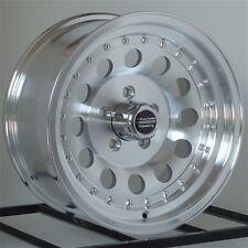 15 Inch Machined Wheels Rims Chevy S10 Blazer 2WD El Camino Chevelle 5x4.75 NEW