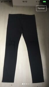 JEANS THE KOOPLES NOIR SKINNY COMME NEUF Taille 30