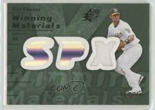 2007 SPx Winning Materials Green /175 Eric Chavez #WM-EC