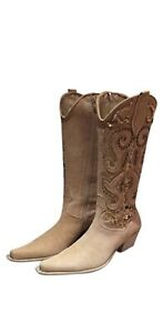 Ripa Calzatture Hand Made In Italy Fashion Cowboy Boots Size US 6 M