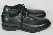 Frye Mens MURRAY OXFORD Black Leather Lace Up Dress Shoes Sz 10