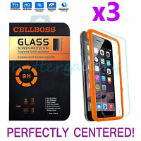 Real Premium Tempered Glass Film Screen Protector for Apple iPhone 6 Plus 5.5""