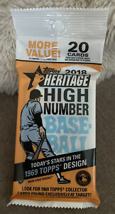 2018 Topps Baseball Heritage High Number Fat Pack Gleyber Torres RC on Front! NY