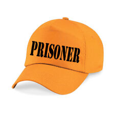 PRISONER Printed Baseball Cap Funny Joke Drink Beer STAG NIGHT