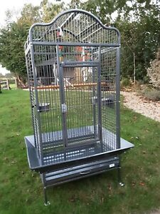 Large parrot / cockatiel cage used