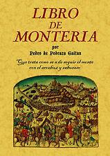 Libro de monteria. NUEVO. Nacional URGENTE/Internac. económico