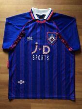 OLDHAM ATHLETIC ENGLAND 1993 1994 RARE UMBRO HOME FOOTBALL SHIRT JERSEY # 2