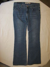 EXPRESS CENTINE PRECISION FIT BOOT CUT STRETCH JEANS JUNIOR WOMEN'S 6R PREOWNED