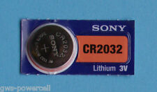 3 x Sony Batterie CR2032 Lithium 3V Knopfbatterie CR 2032 NEU OVP