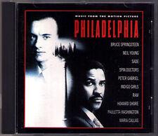 PHILADELPHIA OST CD Maria Callas Bruce Springsteen Howard Shore Neil Young SADE