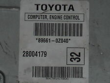 2005-2007 Toyota Corolla or Matrix 1.8 ecm ecu computer 89661-0Z040