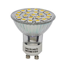 Gu10 Smd Bombilla Led 4w Alta Potencia Brillo Lámpara ahorro de energía 35w Luz Advertencia