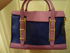 NWT: BOTKIER Eden Satchel in Medley Color (Blue/Purple/Pink), $595!!!