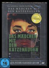 DVD DAS MÄDCHEN MIT DEN KATZENAUGEN GERT FRÖBE, JOACHIM FUCHSBERGER, HANS CLARIN