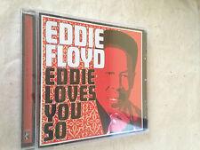 EDDIE FLOYD CD EDDIE LOVES YOU SO STAX SOUL R&B