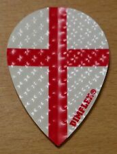 "3 Sets (3X3) St.George Cross"" Pear Shaped Dimplex Dart Flights"