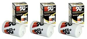 K&N Performance Gold Oil Filter HP-2005 HP2005 Wrench Off - 3 Pack NEW