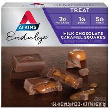 Atkins Endulge Milk Chocolate Caramel Wrapped Squares - 6 Oz./172.5 g