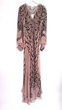 H&M Studio AW 2016 Beige Chiffon Maxi Dress UK6 EU32 ONLY ONE!