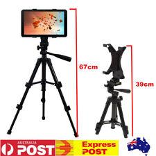 Adjustable Tripod Stand Mount Holder Bracket Cradle For iPad 2 3 4 Tablet Camera