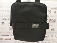 G-STAR RAW V/Small Body Bag Cordura Original Pouch Case Black Shoulder Bags BNWT