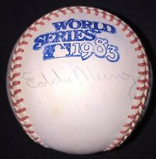 Eddie Murray AUTOGRAPHED SIGNED BASEBALL 83 World Series Ball PSA/DNA Orioles