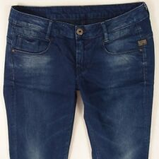 Ladies Womens G-Star NEW RADAR SKINNY WMN Stretch Blue Jeans W31 L32 UK Size 12