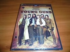 Young Guns (DVD, 2003, Widescreen) Emilio Estevez,Charlie Sheen NEW