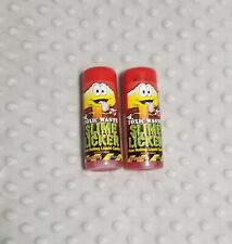 Toxic Waste Slime Licker - Liquid Rolling Candy (2x Strawberry )