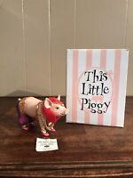 This Little Piggy Pork Belly Dancer Resin Pig Figurine Westland Giftware 2007