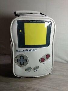 Nintendo GameBoy Game Boy Original Lunch Bag Box Insulated Cooler Gray