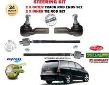 für Mitsubishi Grandis 2003 > 2 x Außen & 2 x Innere Lenk Spurstangenkopf