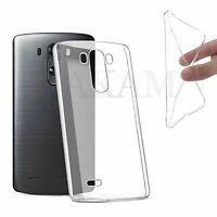 Soft TPU Slim Silicon Clear Gel Back Case Cover For LG Spirit 4G LTE H440N