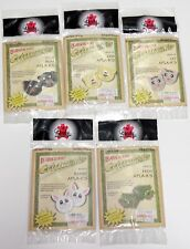 5 Tandy Leathercraft Critter Applique Kits (Sew-On Animal Patches)