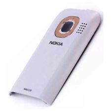 Nokia C2-03, C2-06 Original Akkudeckel Weiss Hell Gold Back Cover Akkufachdeckel