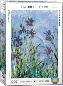 Irises, Claude Monet, 1000 piece jigsaw puzzle 680mm x 490mm (pz)