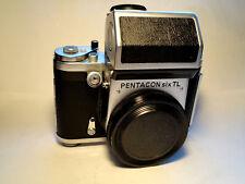 Pentacon Six TL Medium Format SLR Body + TTL-Prism -TESTED - Top Condition -6x6