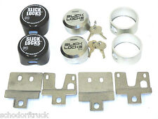 Slick Locks Ford E-Series  E150-250-350 1992+ hinged door van kit,   FD-FVK-1-TK